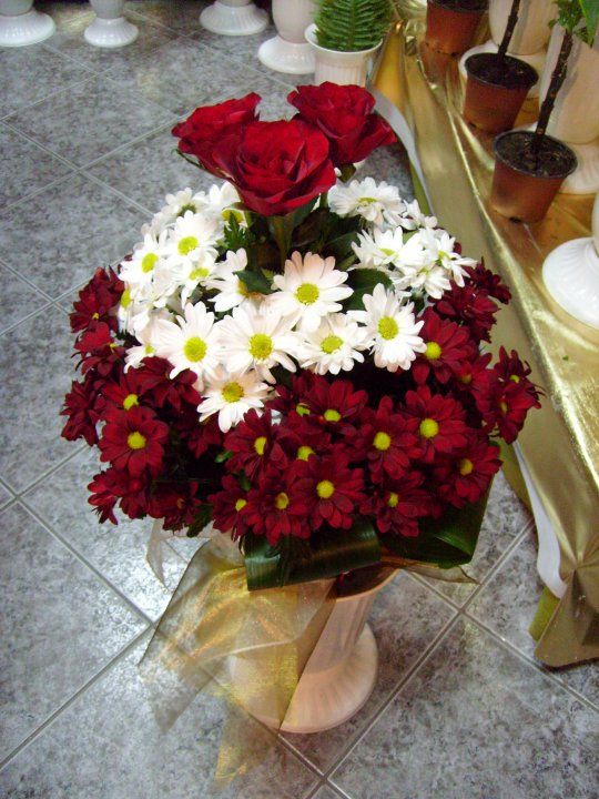 букет-роза-и-хризантема