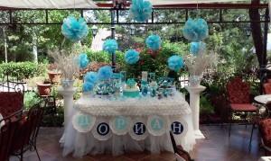 Декорација на маси за родендени и крштевки