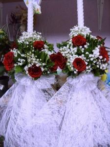 Декорација на свеќи